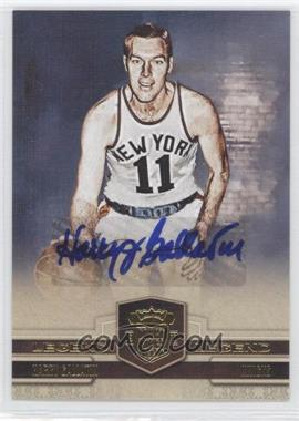 2009-10 Court Kings - [Base] - Autographs [Autographed] #101 - Harry Gallatin /49