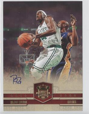2009-10 Court Kings - Box Topper [Base] - 5 x 7 [Autographed] #25 - Rajon Rondo /75