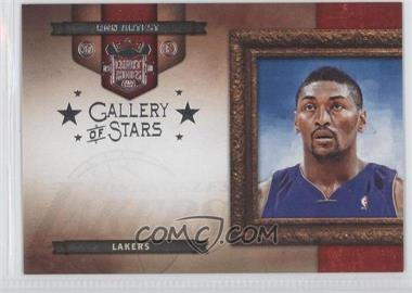 2009-10 Court Kings - Gallery of Stars - Silver #12 - Ron Artest /49