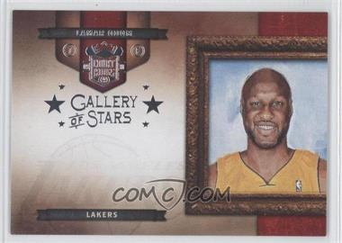 2009-10 Court Kings - Gallery of Stars - Silver #9 - Lamar Odom /49