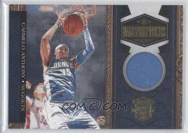 2009-10 Court Kings - Masterpieces - Memorabilia #13 - Carmelo Anthony /299