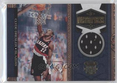 2009-10 Court Kings - Masterpieces - Memorabilia #19 - Clyde Drexler /299