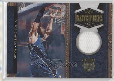 2009-10 Court Kings - Masterpieces - Memorabilia #5 - Vince Carter /299