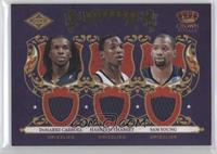DeMarre Carroll, Hasheem Thabeet, Sam Young #/499