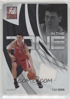 2009-10 Donruss Elite - In the Zone - Jersey #7 - Yao Ming /299