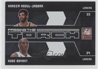 Kareem Abdul-Jabbar, Kobe Bryant [Noted] #/25
