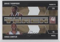 David Thompson, Vince Carter #/100