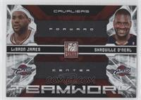 Shaquille O'Neal, LeBron James #/249