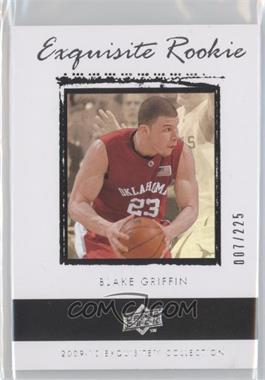 2009-10 Exquisite Collection - [Base] #43 - Blake Griffin /225