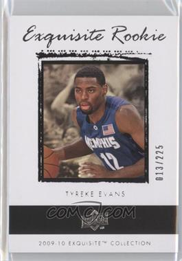 2009-10 Exquisite Collection - [Base] #46 - Tyreke Evans /225
