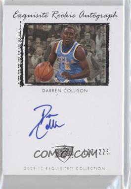 2009-10 Exquisite Collection - [Base] #53 - Darren Collison /225