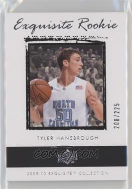 2009-10 Exquisite Collection - [Base] #54 - Tyler Hansbrough /225