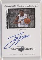 Exquisite Rookie Autograph - Ty Lawson #50/225
