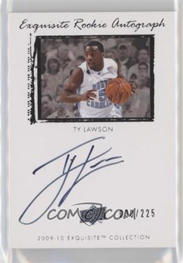2009-10 Exquisite Collection - [Base] #62 - Ty Lawson /225