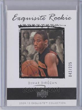 2009-10 Exquisite Collection - [Base] #65 - DeMar DeRozan /225