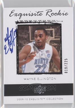 2009-10 Exquisite Collection - [Base] #69 - Wayne Ellington /225
