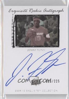 2009-10 Exquisite Collection - [Base] #79 - Jonny Flynn /225