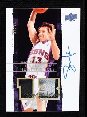 2009-10 Exquisite Collection - Number Pieces Autographs #NP-SN - Steve Nash /13