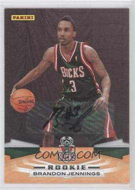 2009-10 Panini - [Base] - Inscriptions [Autographed] #360 - Brandon Jennings