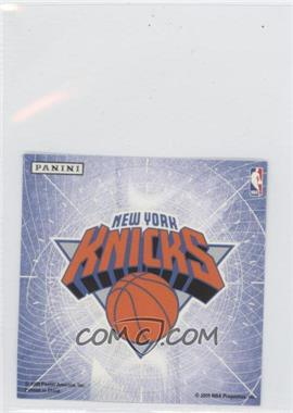 2009-10 Panini - Glow-in-the-Dark Team Logo Stickers #20 - New York Knicks