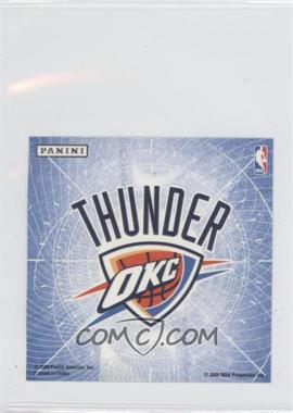 2009-10 Panini - Glow-in-the-Dark Team Logo Stickers #21 - Oklahoma City Thunder