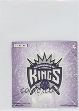 2009-10 Panini - Glow-in-the-Dark Team Logo Stickers #26 - Sacramento Kings