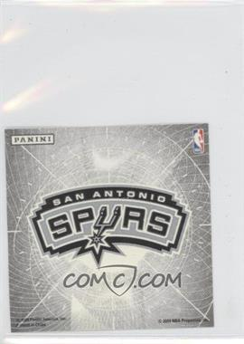 2009-10 Panini - Glow-in-the-Dark Team Logo Stickers #27 - San Antonio Spurs