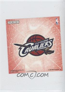 2009-10 Panini - Glow-in-the-Dark Team Logo Stickers #5 - Cleveland Cavaliers
