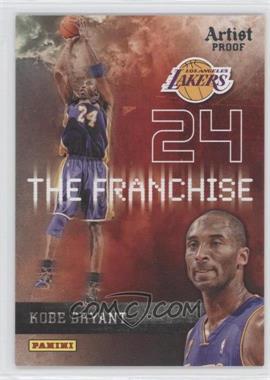 2009-10 Panini - The Franchise - Artist Proof #13 - Kobe Bryant /199