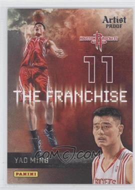 2009-10 Panini - The Franchise - Artist Proof #20 - Yao Ming /199