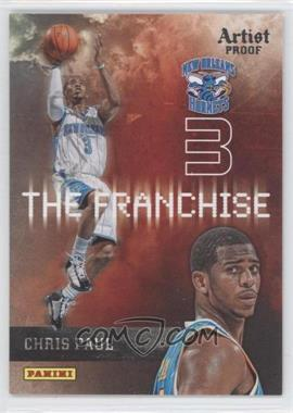 2009-10 Panini - The Franchise - Artist Proof #3 - Chris Paul /199