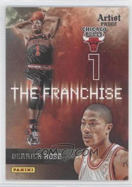 2009-10 Panini - The Franchise - Artist Proof #4 - Derrick Rose /199