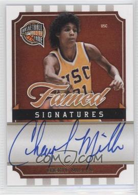 2009-10 Panini Basketball Hall of Fame - Famed Signatures #CM - Cheryl Miller /499