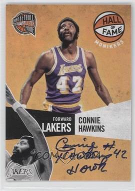 2009-10 Panini Basketball Hall of Fame - Monikers #10 - Connie Hawkins /199