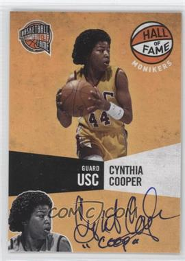 2009-10 Panini Basketball Hall of Fame - Monikers #19 - Cynthia Cooper /294
