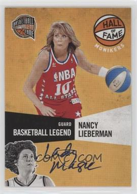 2009-10 Panini Basketball Hall of Fame - Monikers #3 - Nancy Lieberman-Cline /198