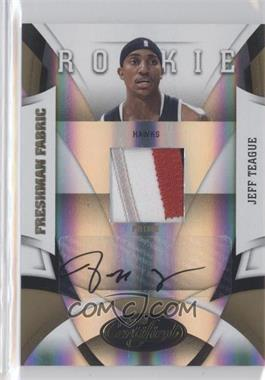 2009-10 Panini Certified - [Base] - Mirror Gold #187 - Jeff Teague /25