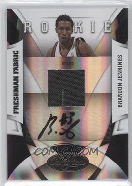 2009-10 Panini Certified - [Base] #178 - Brandon Jennings /399