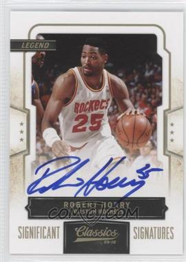 2009-10 Panini Classics - [Base] - Gold Significant Signatures [Autographed] #114 - Robert Horry /50