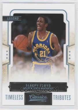2009-10 Panini Classics - [Base] - Platinum Timeless Tributes #145 - Sleepy Floyd /25