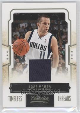 2009-10 Panini Classics - [Base] - Timeless Threads [Memorabilia] #21 - J.J. Barea /199
