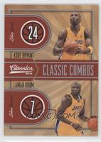 Lamar Odom, Kobe Bryant #/250