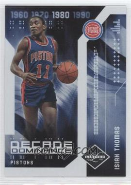 2009-10 Panini Limited - Decade Dominance #14 - Isiah Thomas /99