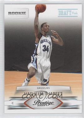 2009-10 Panini Prestige - [Base] - Draft Picks Light Blue #152 - Hasheem Thabeet /999
