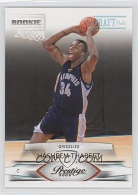 2009-10 Panini Prestige - [Base] - Draft Picks Light Blue #202 - Hasheem Thabeet /999