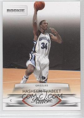 2009-10 Panini Prestige - [Base] #152 - Hasheem Thabeet