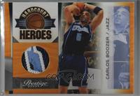 Carlos Boozer [Noted] #/10