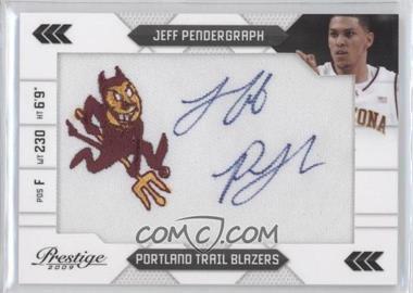 2009-10 Panini Prestige - NBA Draft Class - College Logo Patch Signatures [Autographed] #29 - Jeff Pendergraph /100