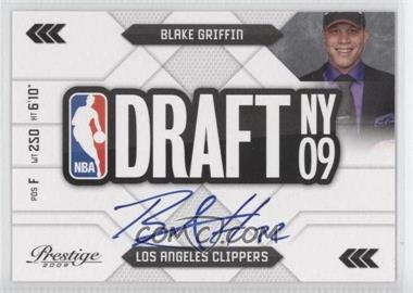 2009-10 Panini Prestige - NBA Draft Class - Signatures #1 - Blake Griffin