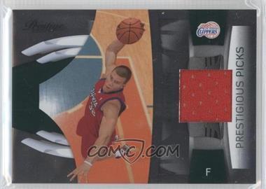 2009-10 Panini Prestige - Prestigious Picks - Green Materials [Memorabilia] #1 - Blake Griffin /100